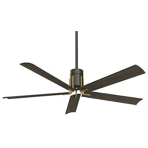 Clean LED Ceiling Fan, Oil-Rubbed Bronze