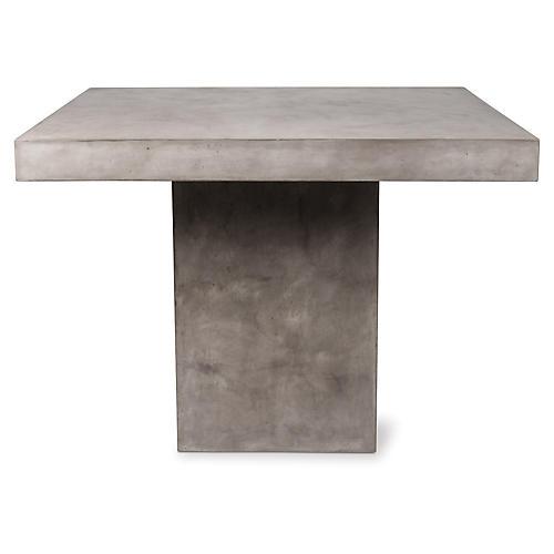 Phil Concrete Bar Table, Gray