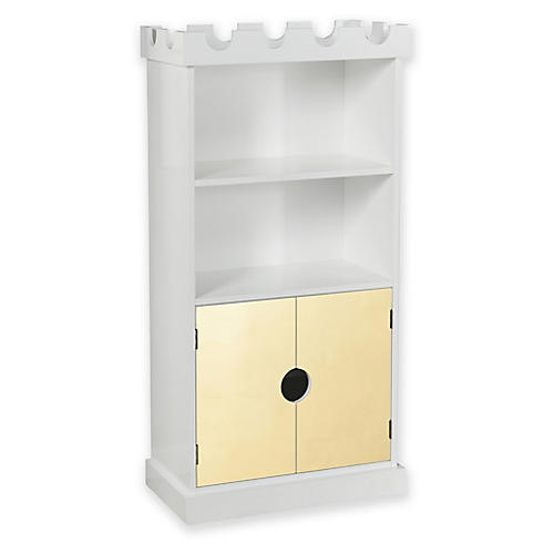 Ellis Castle Bookcase, White