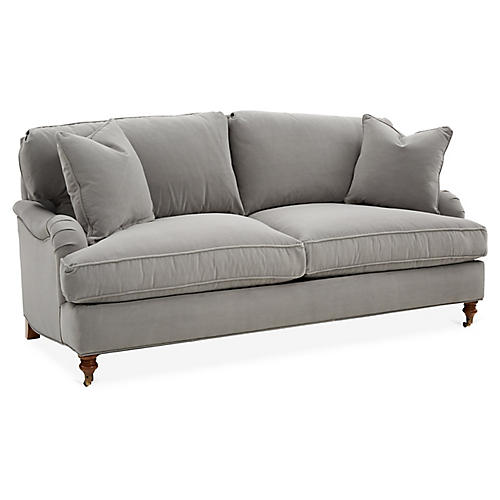 Brooke Sofa, Gray Crypton
