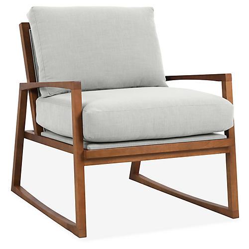 Markus Accent Chair, Mist Crypton
