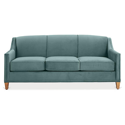 Erin Sleeper Sofa, Sage Crypton