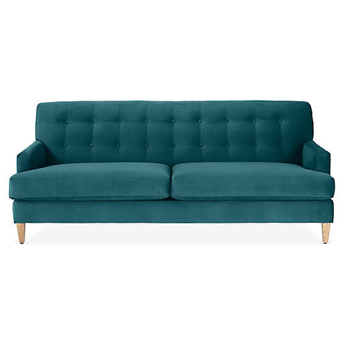 Macy Sofa, Peacock Crypton