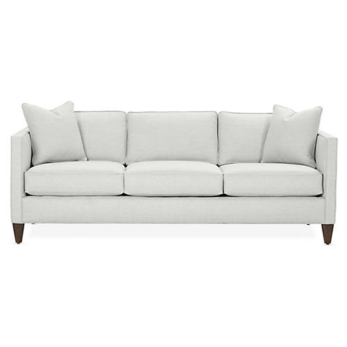 Cecilia Sleeper Sofa, Mist Crypton