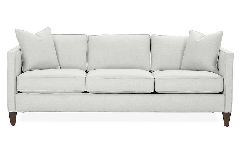 Cecilia Sleeper Sofa, Mist Crypton - Sleeper Sofas - Sofas & Settees ...