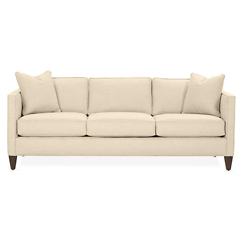 Cecilia Sleeper Sofa, Bisque Crypton