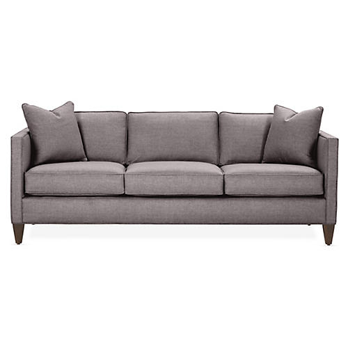 Cecilia Sleeper Sofa, Charcoal Crypton