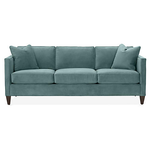 Cecilia Sleeper Sofa, Sage Crypton