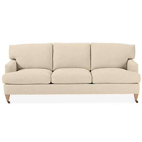 Tannehill Sofa, Bisque Crypton
