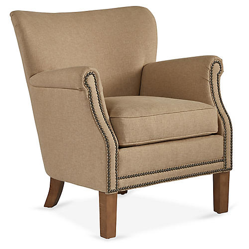 Grant Accent Chair, Sand
