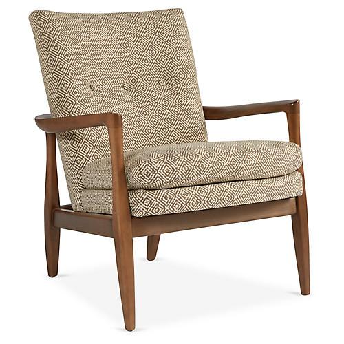 Harris Accent Chair, Sand
