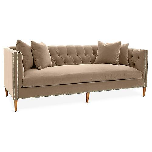 Moreau Sofa, Bisque Crypton