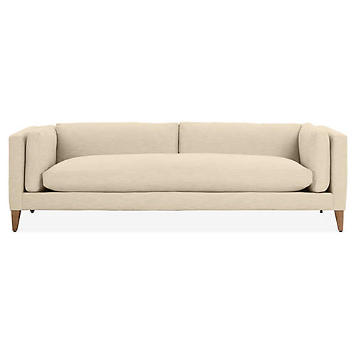 Everleigh Sofa, Flax Crypton