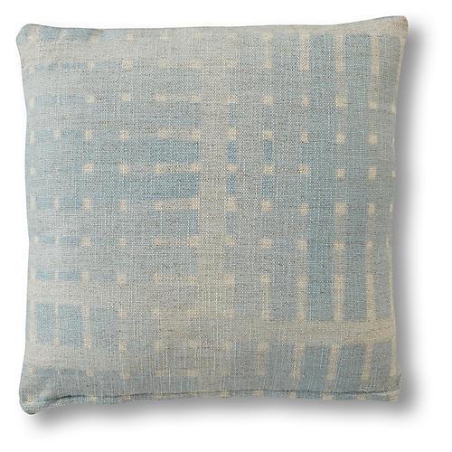 Regan Pillow, Ice Blue