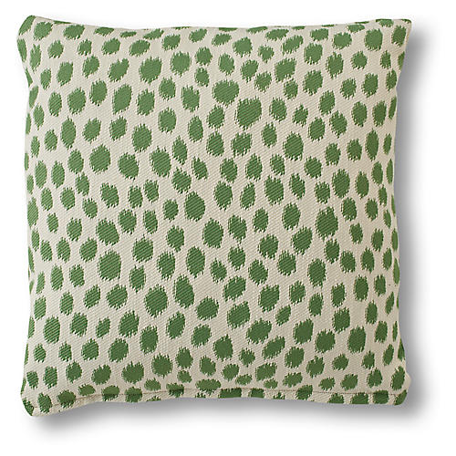 Maple Pillow, Green