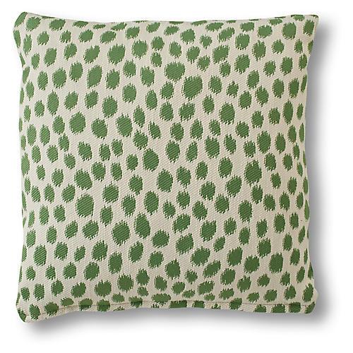 Maple Pillow, Green