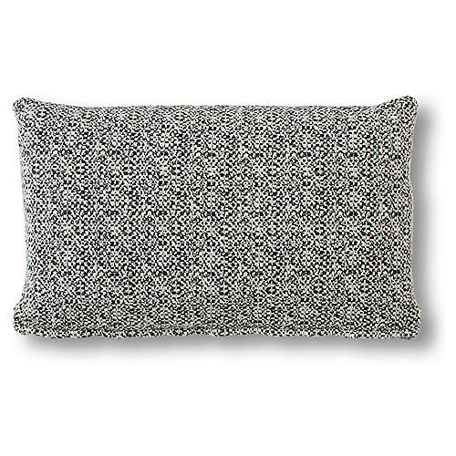 Bette 15x25 Lumbar Pillow, Onyx