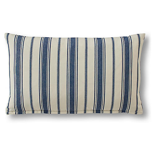 Nessa 15x25 Lumbar Pillow, Royal Blue