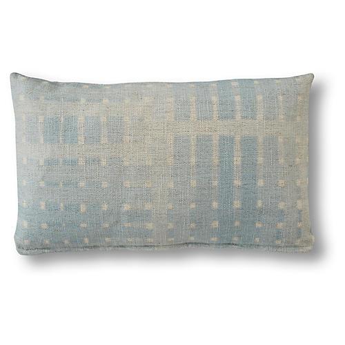 Regan 15x25 Lumbar Pillow, Ice Blue