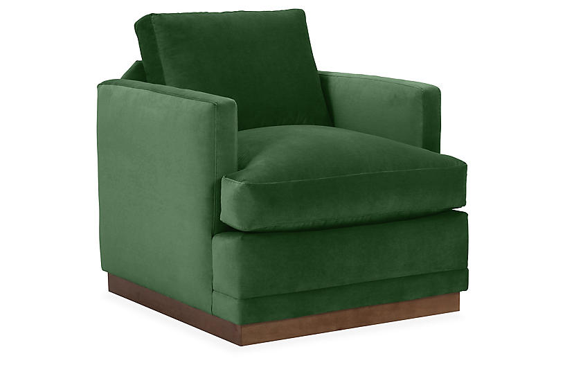 Shaw Swivel Club Chair