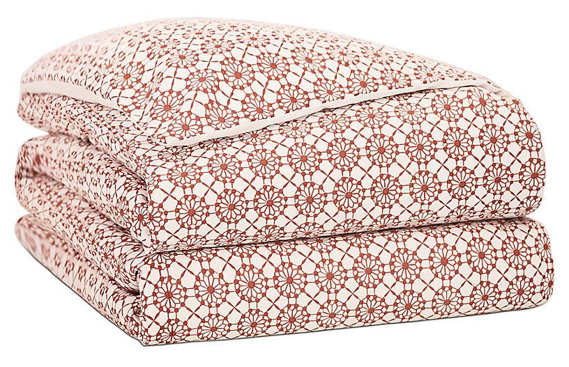 Sconset Duvet Cover, Pink