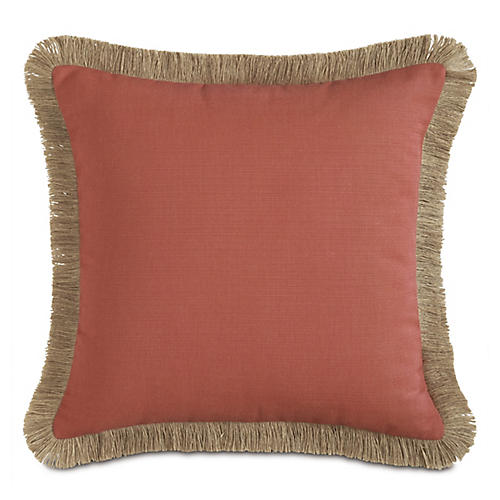 Faye 20x20 Pillow, Orange/Tan