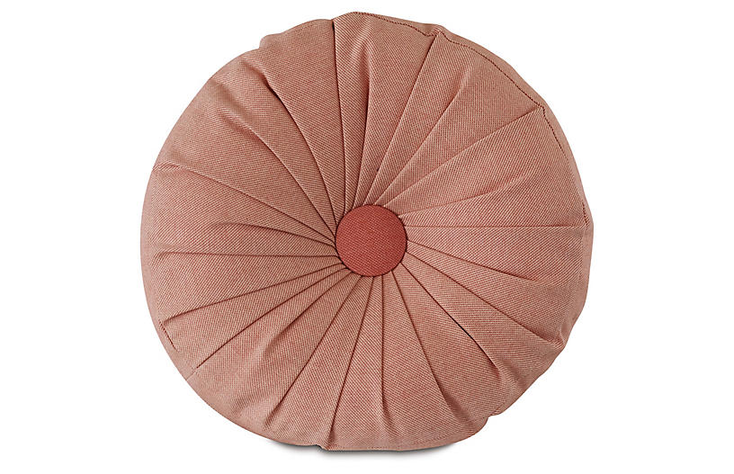 Libby Tambourine Pillow, Melon