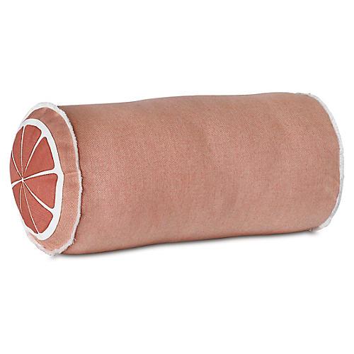 Citrus 9x18 Bolster Pillow, Melon