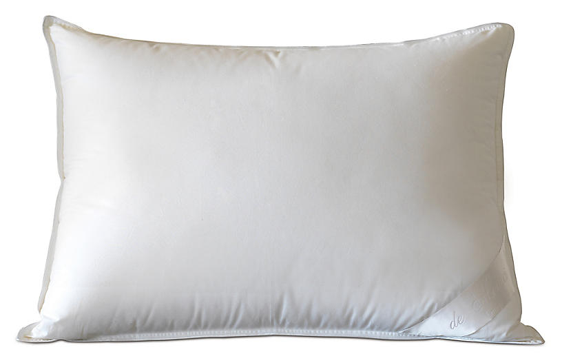 Celesta Firm Pillow, White