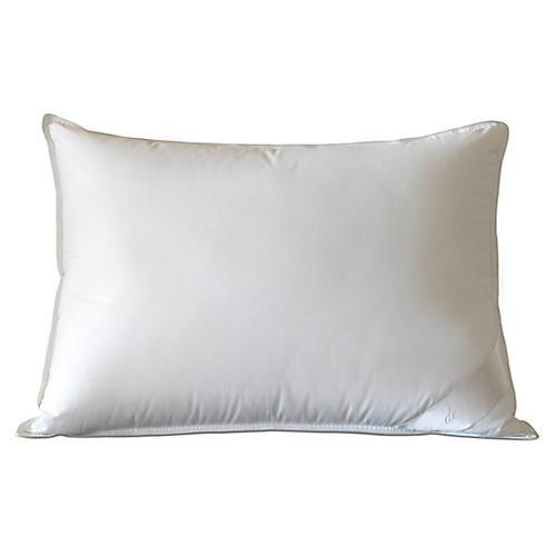 Loure Firm Pillow, White