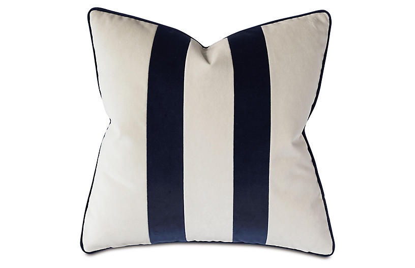 Laney Pillow, Sea Salt