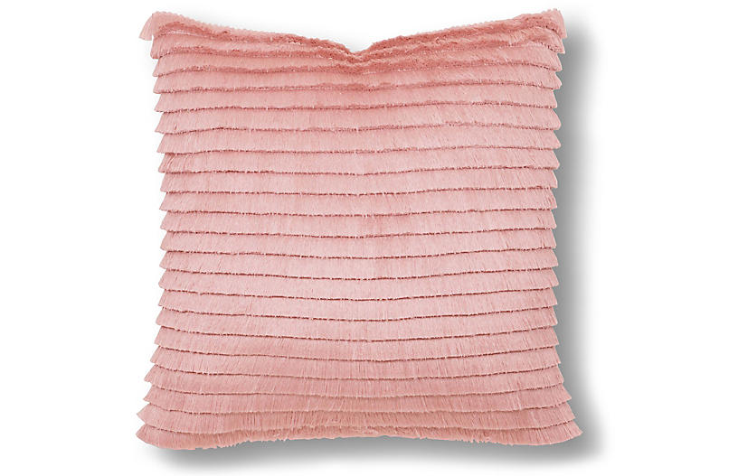 Willa 22x22 Pillow, Pink