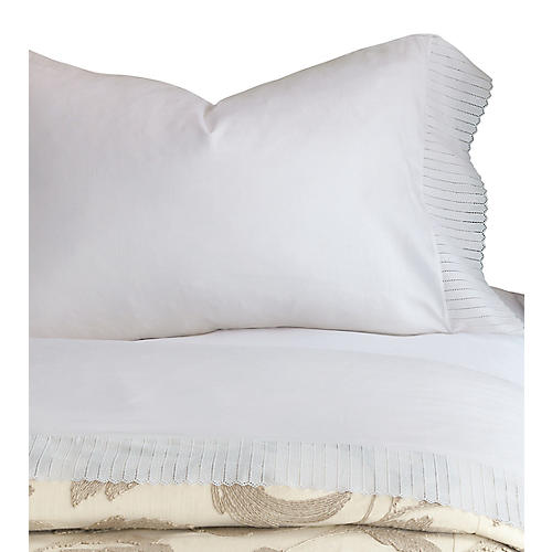 Abingdon Pillowcase, White