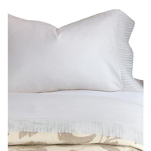 Abingdon Pillowcase, White