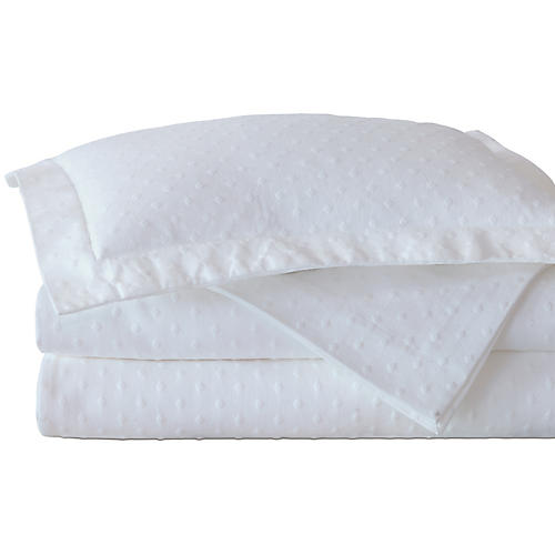 Sweetness Coverlet, White