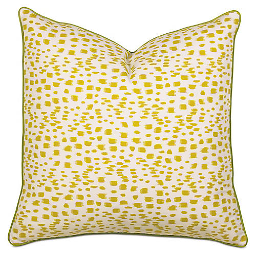 Tropical Dreams Euro Sham, Yellow