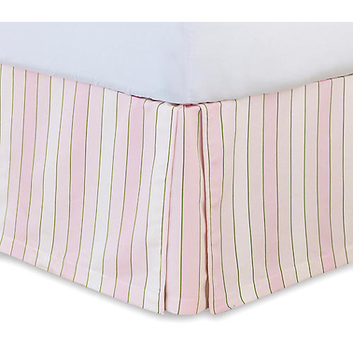 Budding Spring Bed Skirt, Pink/Multi