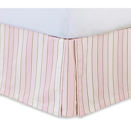 Budding Spring Bed Skirt, Pink/Multi