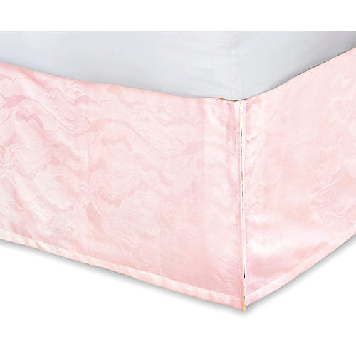 Stratus Bed Skirt, Pink