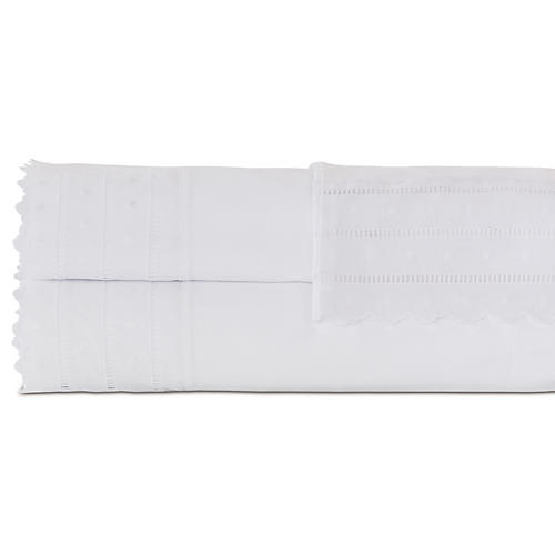 Harper Sheet Set, White
