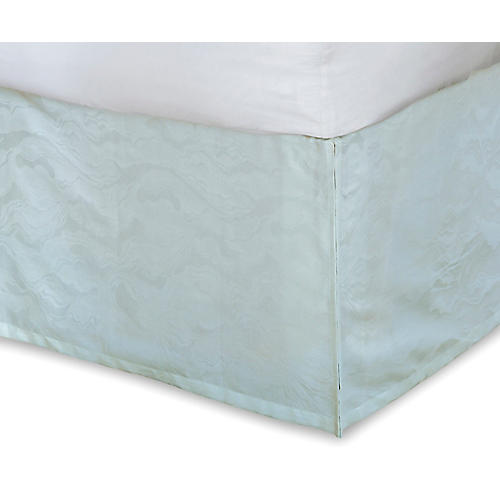 Stratus Bed Skirt, Green