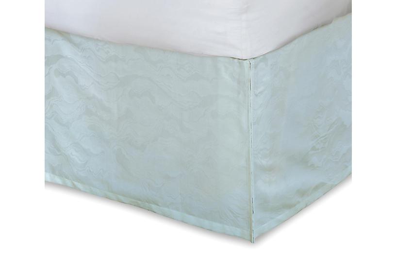 Stratus Bed Skirt, Green
