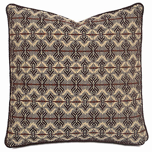 Bella 20x20 Pillow, Brown