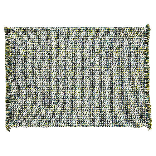 S/4 Twiggy Place Mats, Green