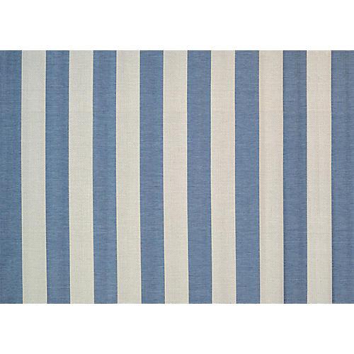 Felicia Outdoor Rug, Cornflower Blue/Ivory