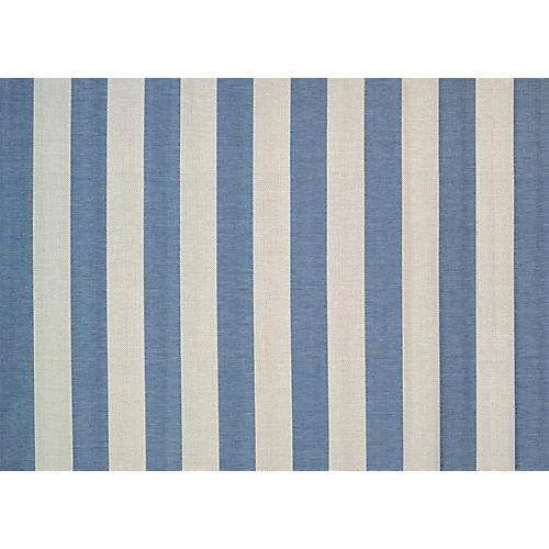 Felicia Outdoor Rug, Cornflower Blue/Ivory