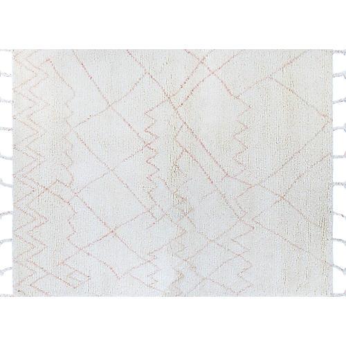 Zofia Hand-Knotted Rug, Ivory