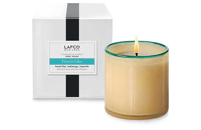 Signature 15.5 oz Pool House Candle, French Lilac