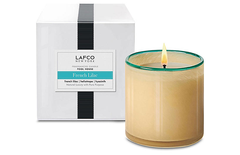 Classic 6.5 oz Pool House Candle, French Lilac