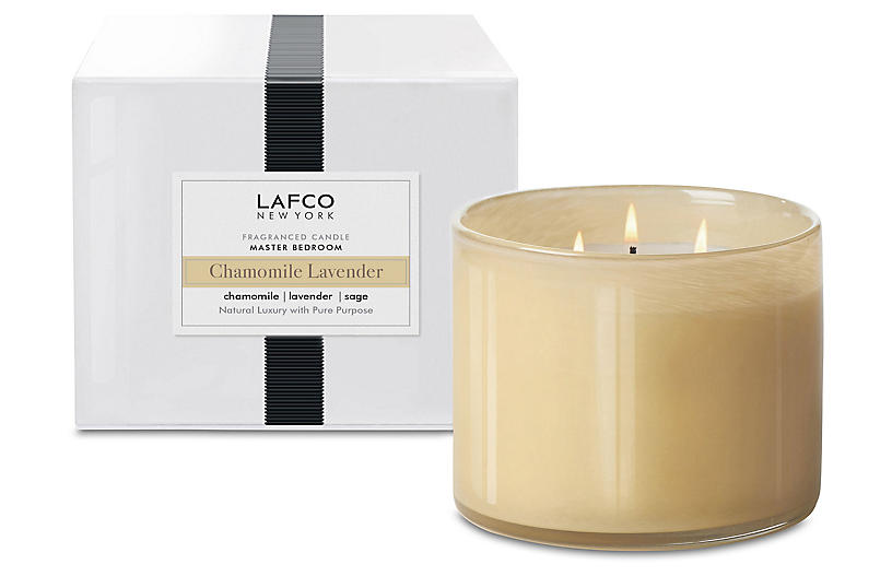 3-Wick Candle, Chamomile Lavender